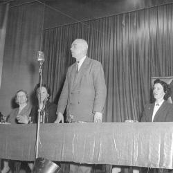 Meeting BWP met Arthur Sercu, jaren 1950
