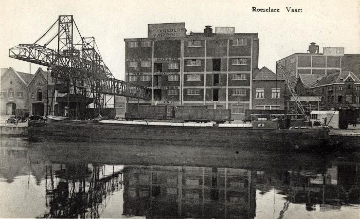 Mengvoederfabriek Avix of Maselis, jaren 1930