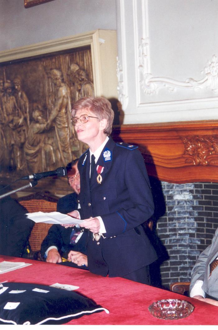 Adjunct-commissaris Inspecteur Maria Seurinck, 1995