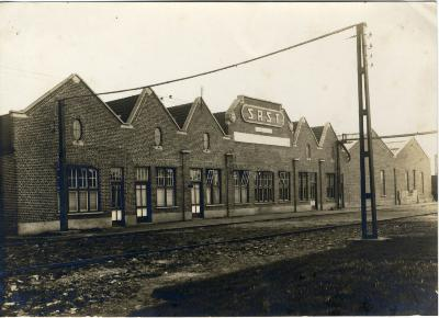 Werkhuizen van de fabriek Sabbe & Steenbrugge