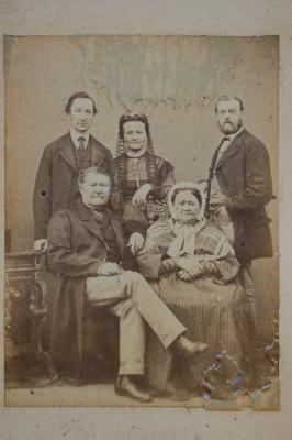 Familie Henri Horrie-Deckmyn, voor 1874