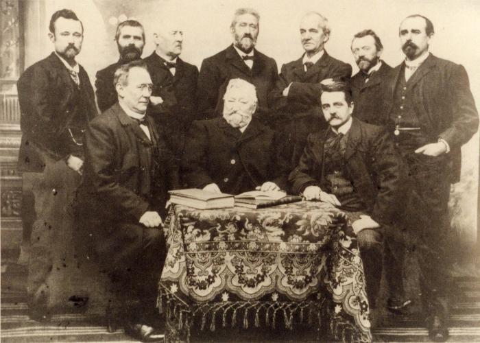 Lerarenkorps Kunstacademie Roeselare, 1903