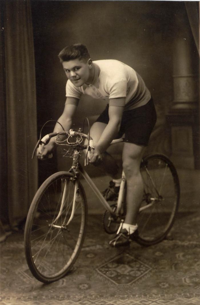 Wielrenner Valeer Ollivier, jaren 1940