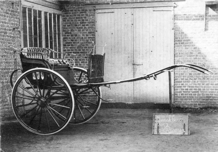 Koets van firma Jonckheere, Beveren, 1911