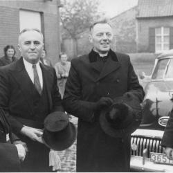 Inhuldiging E.H. Allegaert, Beveren, 1952