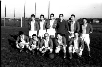 Voetbalploeg SVO Ingelmunster, Izegem, 1959
