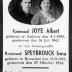 Albert Joye en Irma Speybrouck, verzetshelden WO II