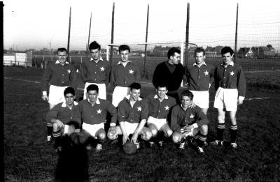 Voetbalploeg Witte Ster Ieper, Izegem, 1959