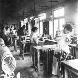Atelier tennisrakettenfabriek Snauwaert-Depla