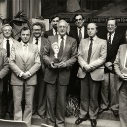 Cultuurtrofee voor zangkoor De Mandelgalm, 1982