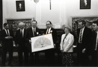 Nationaal Congres VVF met o.a. Lieve Denys, 1989