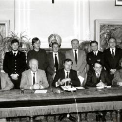 Samenwerkingsakkoord Stedelijk Ziekenhuis en Heilig-Hartziekenhuis, 1987