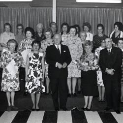 Christiane Planckaert-Staessen, 10 jaar bestuurslid CMBV, 1971