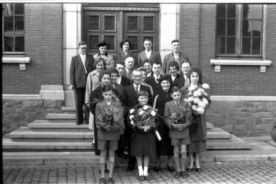 Jubileum familie Coopman, Emelgem 1957