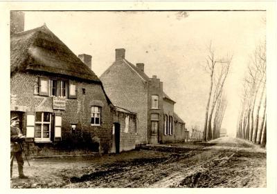 De oude Grÿsperdmolen, Gits, 1915