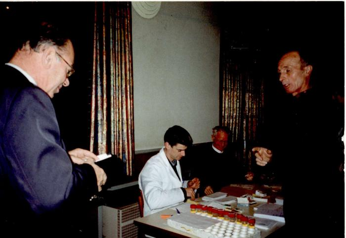 Bloedinzameling St. Quirinuszaal, Hooglede, 1996