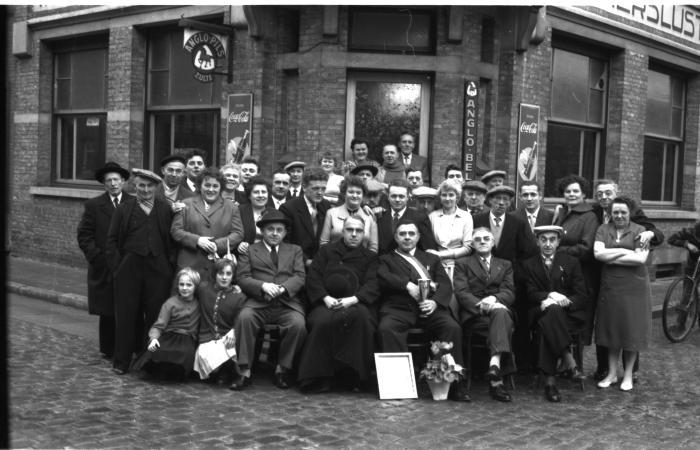 """Huldiging """"De Gilde"""", Emelgem, 1959"""