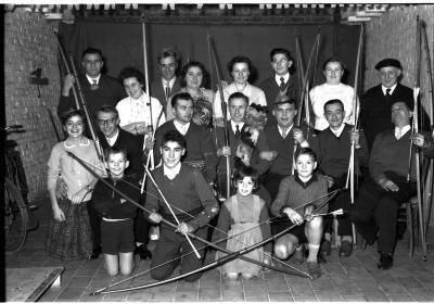 """Handboogschutters """"Stad Kortrijk"""", Izegem, 1959"""