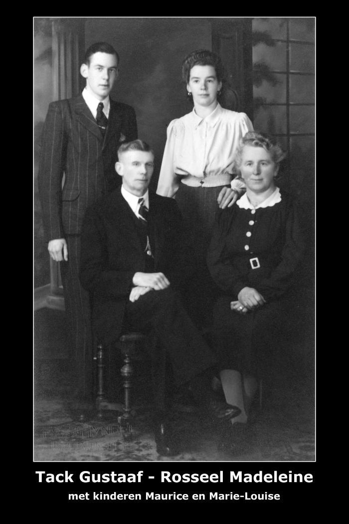 Familie Tack Gustaaf - Rosseel Madeleine