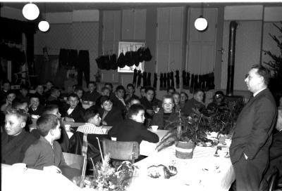 Kerstfeest kinderen FC Izegem, Izegem, 1959