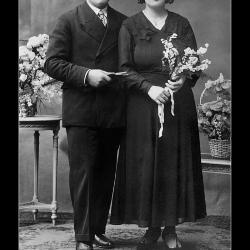 Huwelijk Camiel Van Iseghem - Margareta Carpels, Ingelmunster, 1934