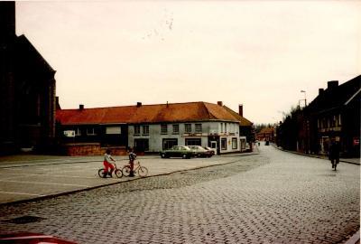 """Café """"De Hert"""", Gits, 1985"""