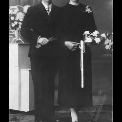 Huwelijk Andries Migneau - Elvyra De Malderé
