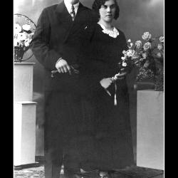 Huwelijk Tobias Storme - Germana Nyffels, Ingelmunster, 1935