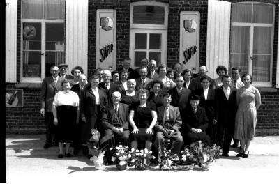 Zilveren jubileum Vroye, Izegem, 1958