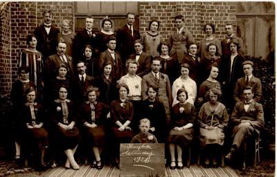 Missiedag in de St. Quirinuszaal, Hooglede, 1926