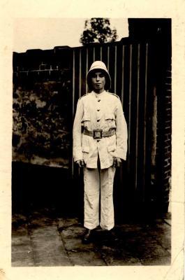 Portret Dhr. Vandenbussche Isidoor, Hooglede, 1950
