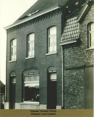 Hoedenmakershuis, Stationsstraat Gits
