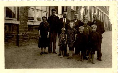 Familie Creus, Gits, 1943