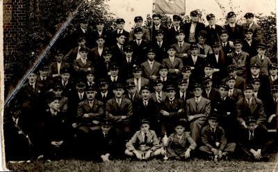 """Wielerclubvereniging """"De Bie"""", Gits, 1940"""