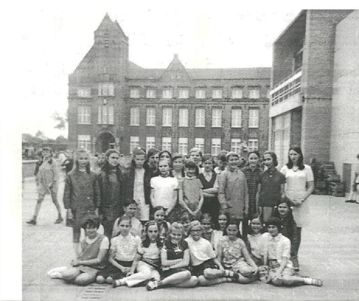 12 jarige meisjes, Gits, 1970