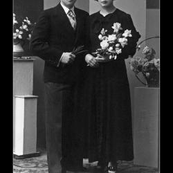 Huwelijk André Heldenberghe - Romanie Carpels, Ingelmunster, 1937