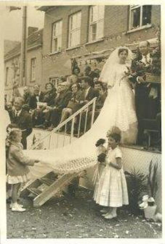 Feestelijke inhuldiging van Burgemeester Elmar Vanbiervliet, Gits, 4 juli 1965
