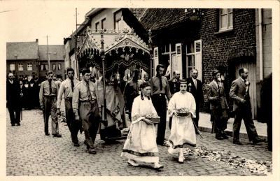 Processie Gits, Gits, 1951