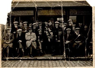 Groepsfoto Boldersclub, Gits, 1939