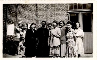 Groepsfoto, Hooglede, 1948