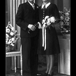Huwelijk Roger Windels - Julia Olivier, Ingelmunster, 1942