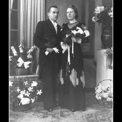 Huwelijk André Pillen - Margareta Vandenberghe, Ingelmunster, 1940