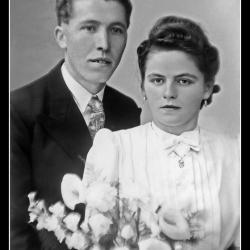 Huwelijk Albert Herreman - Gabriella Windels, Ingelmunster, 1942