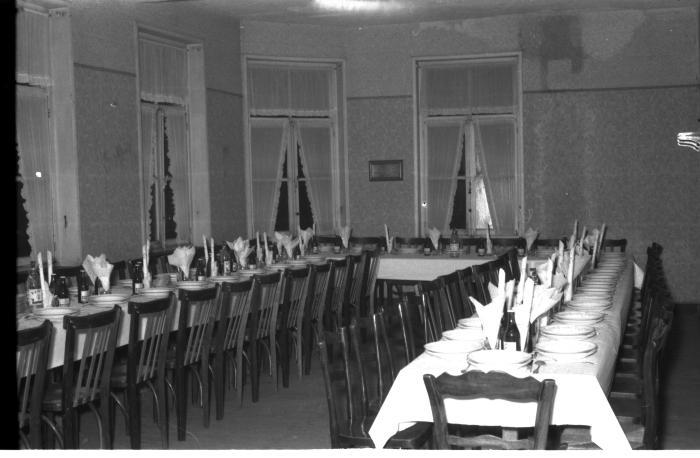 Feestzaal 'Sportief', Emelgem 1958