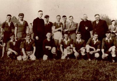 Groepfoto bekerwinnaar VP Gits, Gits, 1950