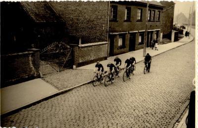 Wielerwedstrijd, Gits, 1960