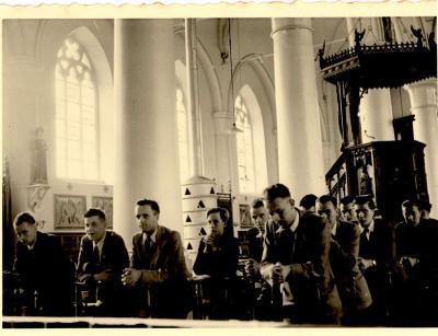 Misviering K.A.J., Gits, 1955