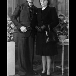 Huwelijk Joannes Samijn - Emerence Lecluyse, Ingelmunster, 1946