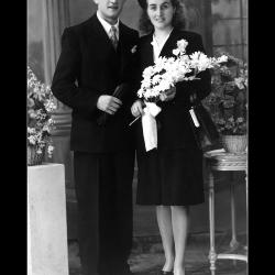 Huwelijk Palmer Wastijn - Ivonna Windels, Ingelmunster, 1946