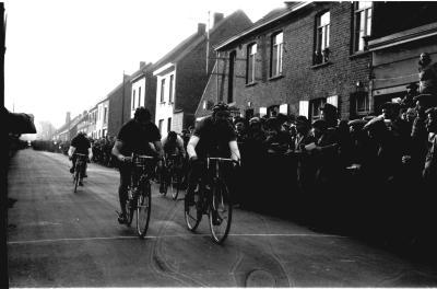 Wielerwedstrijd, Lendelede, 1958